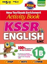 Activity Book KSSR English SJKC 英文配版作业 1B